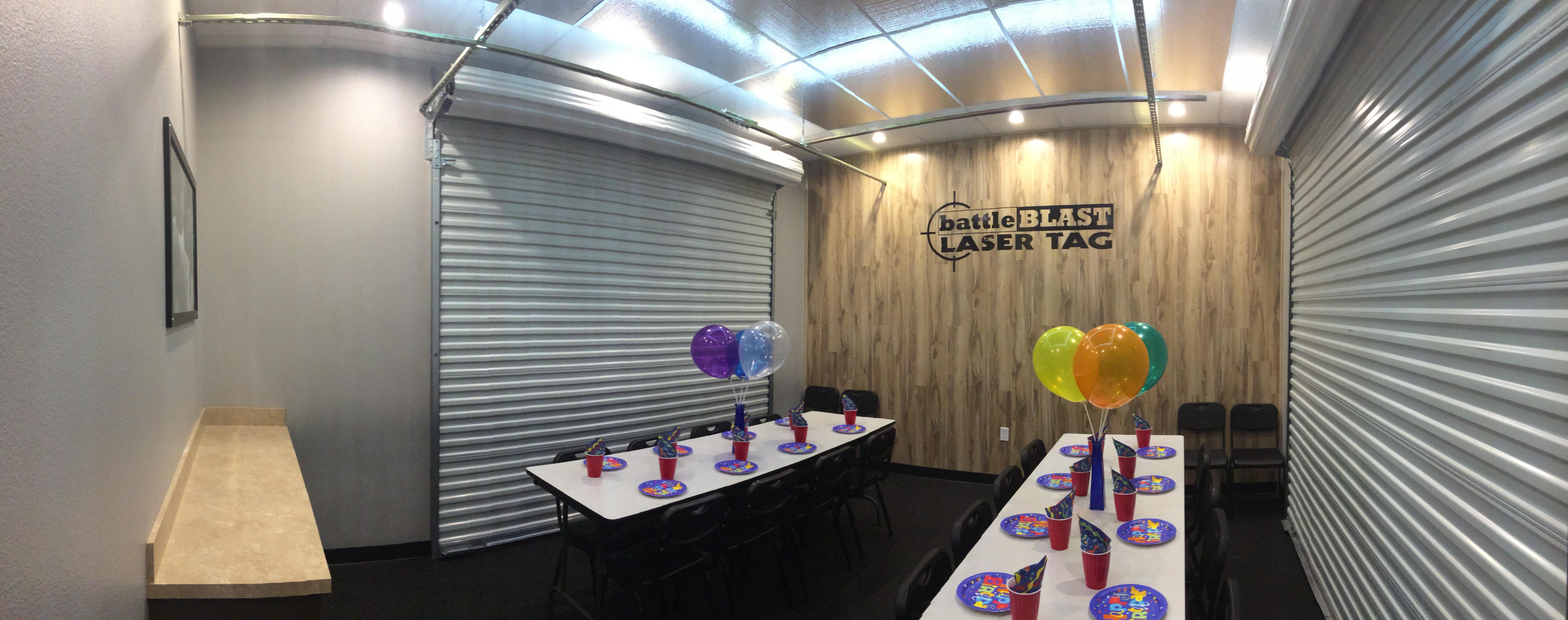 BattleBLAST Birthday Parties Las Vegas