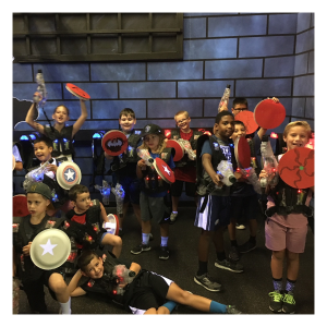 The best summer camps in Las Vegas - Laser Tag Camp with Bricks4Kidz or Engineering for Kids